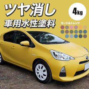 車用 水性塗料 Car Paint 4kg Dippin' Paint(ディッピン ペイント) 車塗料 ペンキ つや消し マット|c-ranger