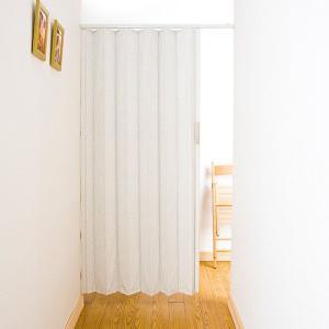 アコーディオンカーテン つっぱり式アコーディオンドア パネルドア パネルタイプ イージー/ 幅100cm×高さ174cm[直送品]|c-ranger