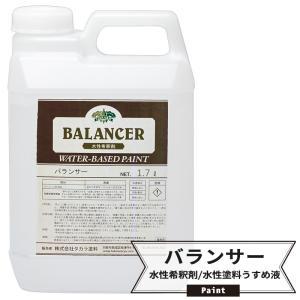 水性希釈剤 バランサー 水性塗料うすめ液 1.7L|c-ranger