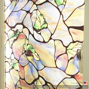ステンドグラス風ガラスフィルム フィルム 窓ガラス おしゃれ 北欧  カフェ ウインドウフィルム ヴィスタ|c-ranger