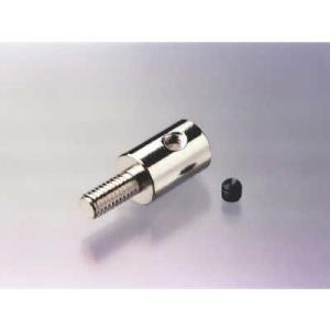 エンドネジ(オス)穴径3×ネジ3mm 外径8×全長21mm|c-task
