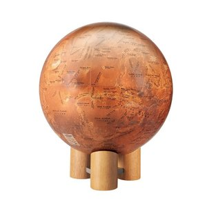 火星儀 MY 球径26cm( 1/2600万) 和文に欧文併記 再生紙使用|c-task