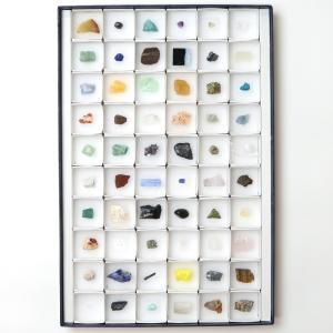 鉱物標本 60種 解説付き|c-task