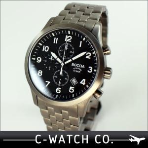 腕時計 メンズ腕時計 Boccia Titanium ボッチ...
