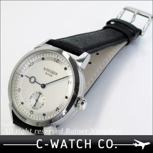 【完売】ライナーニーナバー 限定20個モデル アールデコ シルバーダイヤル 手巻き 送料無料【17/20】|c-watch