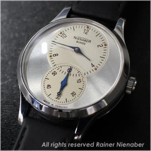 ドイツ注文品 AHCI独立時計師 ライナーニーナバー 限定生産モデル グレートセコンド 手巻き 送料無料|c-watch