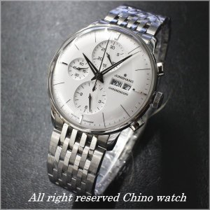 JUNGHANS Meister CHRONOSCOPE 027 4121 45 自動巻き 腕時計 メンズ腕時計 送料無料|c-watch