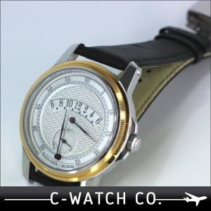 ★ドイツ注文品★ ライナーニーナバー レトログラード アワー 手巻き SS+K18  腕時計 時計 送料無料|c-watch