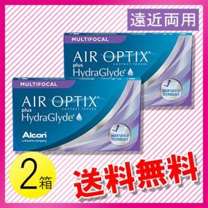 エアオプティクス プラス ハイドラグライド マルチフォーカル 6枚入×2箱 /送料無料 /メール便 c100