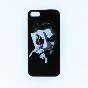 iPhoneSE 5 5sケース バットマン・ジョーカー アートイラストグラフィックプリント アイフ...