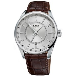 腕時計 ORIS オリス Artix アーティックス ポインタームーン デイト シルバーダイアル オ...