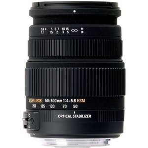 シグマ 50-200mm F4-5.6 DC OS HSM キヤノン用|cacaoshop