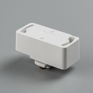 用途:ダクトレールに引掛シーリング対応の照明機器を吊り下げるための引掛シーリング用プラグです。 素材...