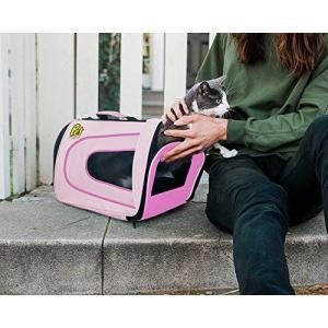 [追加90%割引] Pet Magasin 両面柔らか素材・ペット旅行ケージ ? 猫、小型犬、子犬、その他のペット・優れた換気、折り畳み外出用ケージ|cacaoshop