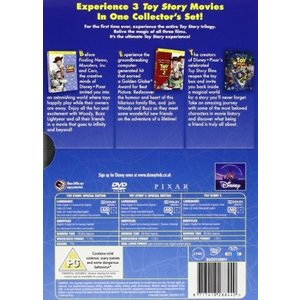 Toy Story 1-3 Box Set DVD|cacaoshop