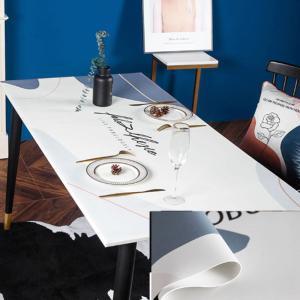 テーブルクロス 北欧風 ビニール PVC デスクマット 撥水加工 防水 撥油 汚れ防止 傷防止|cactus0812