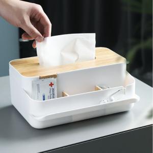 ティッシュケース 収納 カバー ティシュボックス 蓋つき 木製 北欧風 リモコン リビング 寝室 多機能 インテリア雑貨 おしゃれ|cactus0812