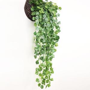 フェイクグリーン 観葉植物 アイビー 造花 藤 緑 壁掛け 葉 グリーン インテリア 飾り ホーム オフィス ベランダ ガーデン 吊り 人工|cactus0812