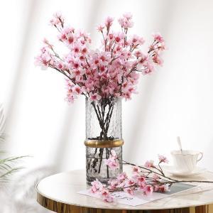 桜 造花 サクラ 2本セット 束春 さくら フラワーアレンジ 美しい 日本 季節 きれい 満開 室内 インテリア 桜の造花 春を感じる アレンジメント ピンク ギフト|cactus0812