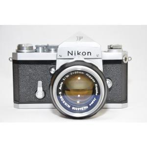ニコン中古フィルム一眼レフカメラ Nikon F アイレベル 難有品