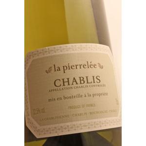 シャブリ ラ・ピエレレ[2018]ラ・シャブリジェンヌChablis La Pierrelee/La Chablisienne|caesar1995