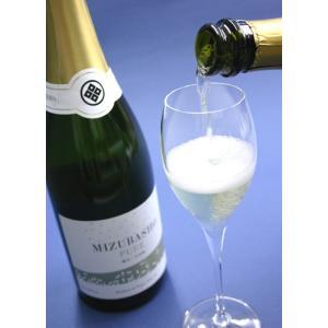 日本酒 スパークリング清酒 水芭蕉ピュア MIZUBASHO PURE フルボトル 720ml 永井酒造|caesar1995
