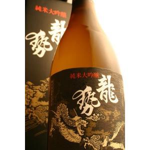 龍勢 純米大吟醸 黒ラベル 720ml/藤井酒造  caesar1995