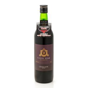 キュヴェ・ゼロ(赤)ノンアルコールワイン 720ml 大和葡萄酒|caesar1995