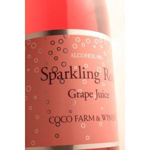◆アルコール0% ロゼ・スパークリングジュース 750ml足利ココ・ファーム・ワイナリー|caesar1995