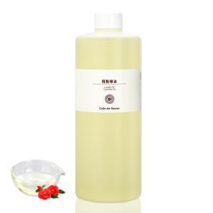 精製 椿油 500ml (手作り石鹸 手作りコスメ つばき油 カメリアオイル)|cafe-de-savon