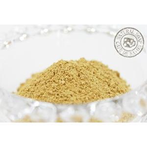 (ポストお届け可/51) フレンチクレイ・イエロー 100g (手作り石鹸 コスメ フェイスパック アロマ クレイセラピー)|cafe-de-savon