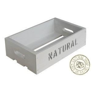 Cafe de Savonオリジナル木箱 Lサイズ ホワイト (手作り石鹸 乾燥 収納)|cafe-de-savon