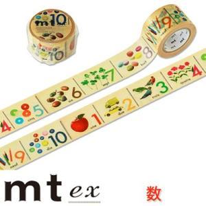 マスキングテープ 『mt ex 数』 cafe-de-savon