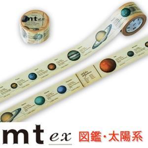 マスキングテープ 『mt ex 図鑑・太陽系』|cafe-de-savon