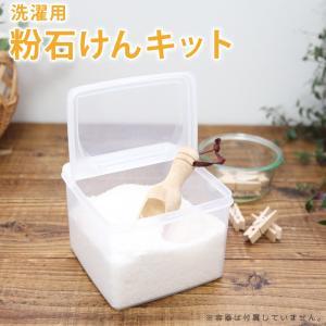 洗濯用粉石けんキット|cafe-de-savon