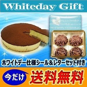 バレンタイン  限定 トリュフチョコ(4個)&生チョコレアチーズケーキ2種セット(生チョコレート スイーツ 詰め合わせ ギフト プレゼント 本命)