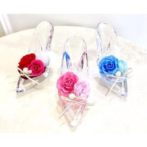 シンデレラのガラスの靴 プリザーブドフラワー|cafura
