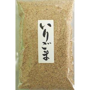 お徳用煎りごま 直火焙煎 白胡麻250g|cagami