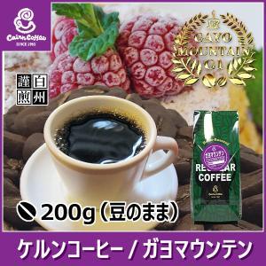 コーヒー豆 ガヨマウンテン 200g(豆のまま) 自家焙煎 珈琲 珈琲豆 商品番号16080|cairncoffee