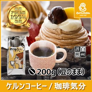 コーヒー豆 珈琲気分 200g(豆のまま) 自家焙煎 珈琲 珈琲豆 商品番号12880 cairncoffee