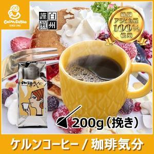 コーヒー豆 粉 珈琲気分 200g(挽き) 自家焙煎 珈琲 珈琲豆 商品番号12890 cairncoffee