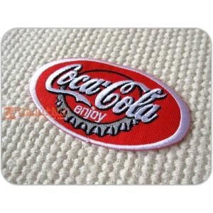 刺繍ワッペン/CocaCola瓶フタ/コカ・コーラ/USA/メール便送料無料/アイロン/アップリケ/CaJu+NiC[カジュニック]|cajunic