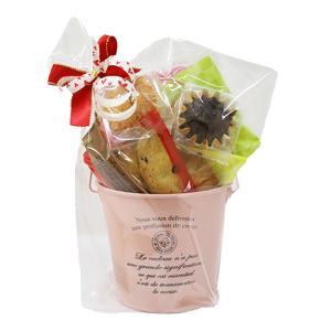 ブリキポッド(焼き菓子9個入り)プレゼント ギフト 贈り物 誕生日 手土産 洋菓子 クッキー フィナンシェ 詰合せ|cake-angelica
