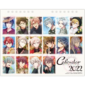 卓上 アイドリッシュセブン 2022年カレンダー CL22-0054|calenavi