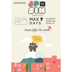 プリペイドSIMカード JPSIM 7days day/200MB 日本で使えるプリペイドSIMカード(Prepaid SIM card)|calendar-world