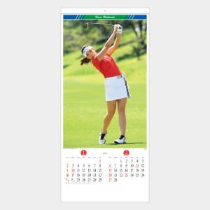 名入れカレンダー 2019 壁掛け SB-016 レディースゴルフ 200冊