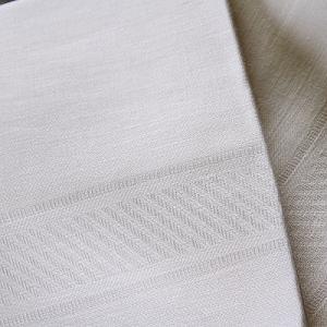 CALIENTE リトアニア リネン 麻 100% スタイル ジャガード織 クロス タオル|caliente