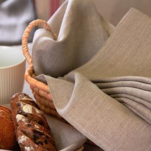CALIENTE リトアニア リネン 麻 100% カルボ L キッチンクロス フェイスタオル クロス キッチン タオル ランチョマット キッチンワイプ 布巾 ふきん 台拭き|caliente