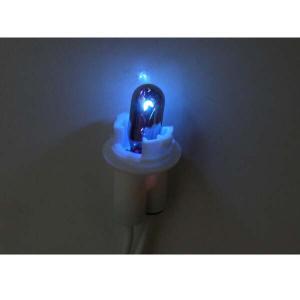 CC CHROME BULB ウェッジ球 (12V/5W/BLUE/T10)<2個入り>|californiacustom