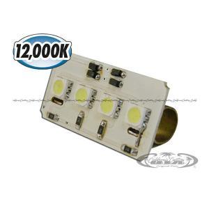 汎用LEDルームランプ 12000Kシリーズ 基盤型(4SMD/3chip)A|californiacustom